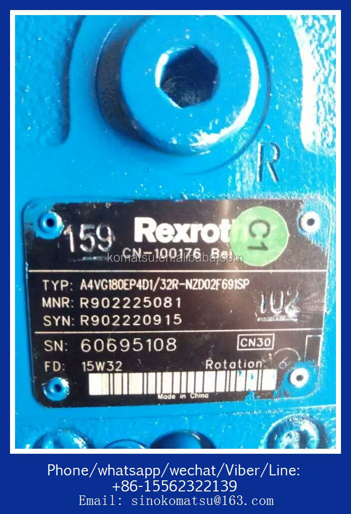 OEM excavator pump parts For Rexroth pump A10VD43SR1RS5-992-2 for For Sumitomo SH60 SH70