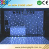 High quality rgbw Colorful effect led star curtain