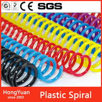 Other Office & School book binder Supplies pvc plastic spiral wire ring for book ,notebooks