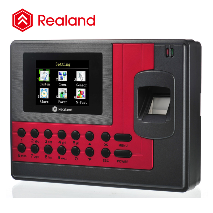 Realand A-C111 Biometric Time in Time out Finger Print Time Attendance
