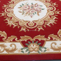 Hand Carved Project Carpet and Rugs, Classical Design hand tufted wool carpet