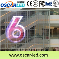cheap transparent led display screen