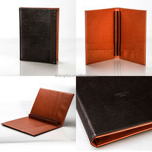 Fashion Design Handcrafted Leather Car Registration Document Holder