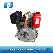 Low price single cylinder vertical shaft diesel engine 178F