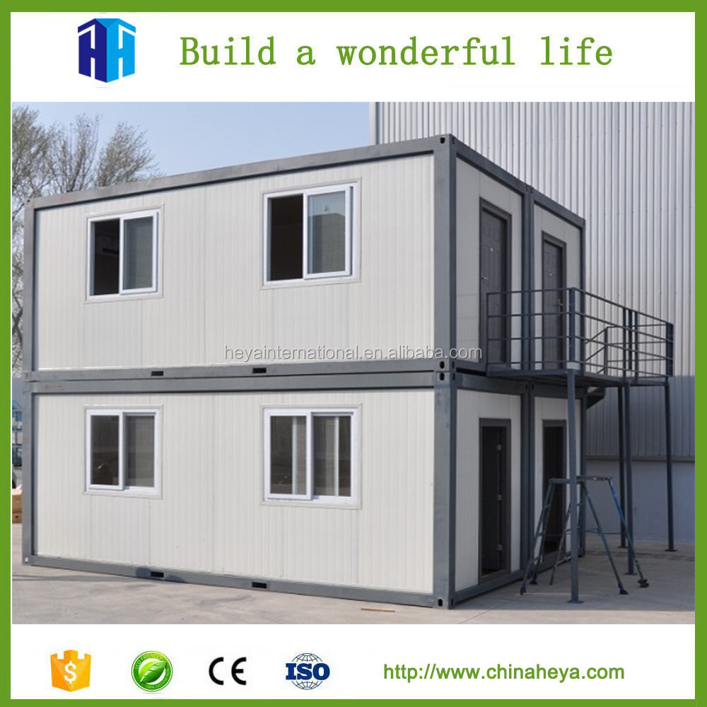 Stack modular building fiberglass steel container house for sale