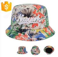 cheap bucket hats fancy wholesale 100% polyester lady beach&travel hat