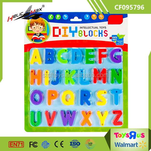 Home Education Toy 26 Magnetic English Alphabet Letter for Kids with Environment Material