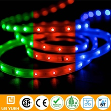 Outdoor Flexible 24V Decorative Lightings IP66/67 SMD Osram235 RGB LED Light Strip