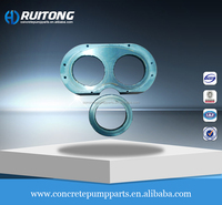 Sany & Zoomlion& Putzmeister concrete pump spare parts wear plate and cutting ring wholesale