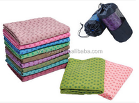 high quality non-slip microfiber Yoga towel in low price