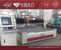 CNC high pressure portable water jet cutting machines for nonferrous metal