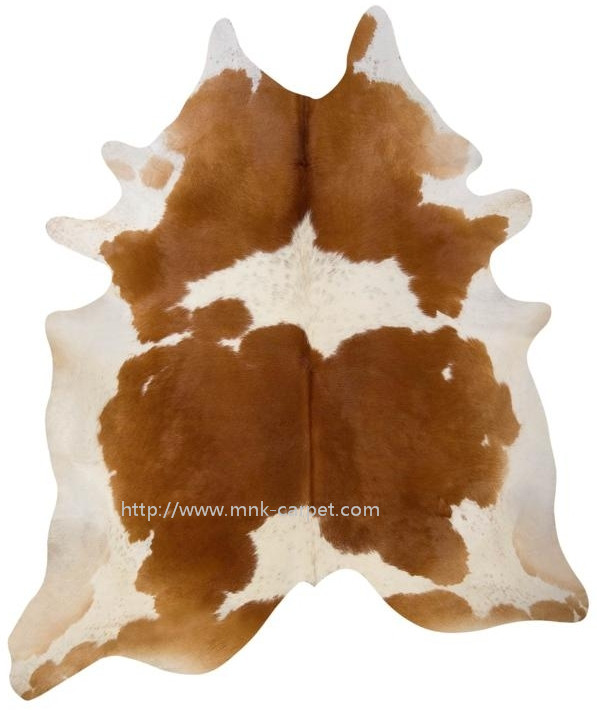animal skin rug cow hide rug brown and white whole skin rug