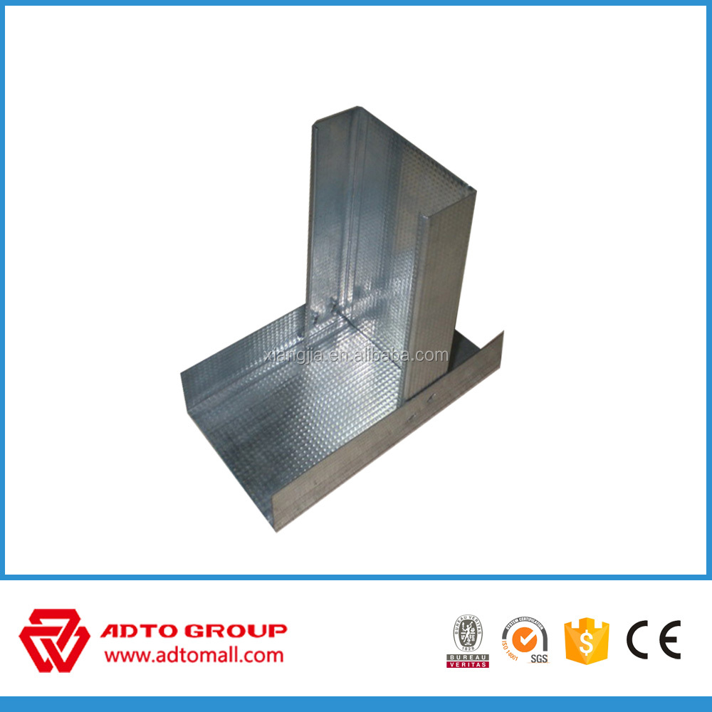 Drywall C channel Metal stud size price