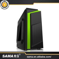 SAMA 2016 New Style High-End Handmade 2016 New Arrival Atx/Micro Atx Computer Pc Case With Power Supply And Fans