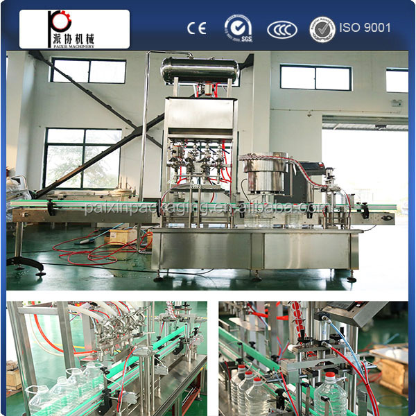 Top supplier applied to ketchup class bottling machine