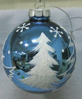 2013 hot supply hand painted christmas ball