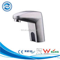 Sensor operated stainless steel faucet sanitary ware water tap