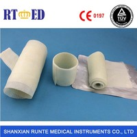 Surgical harmless waterproof orthopedic fiberglass casting tape&bandage