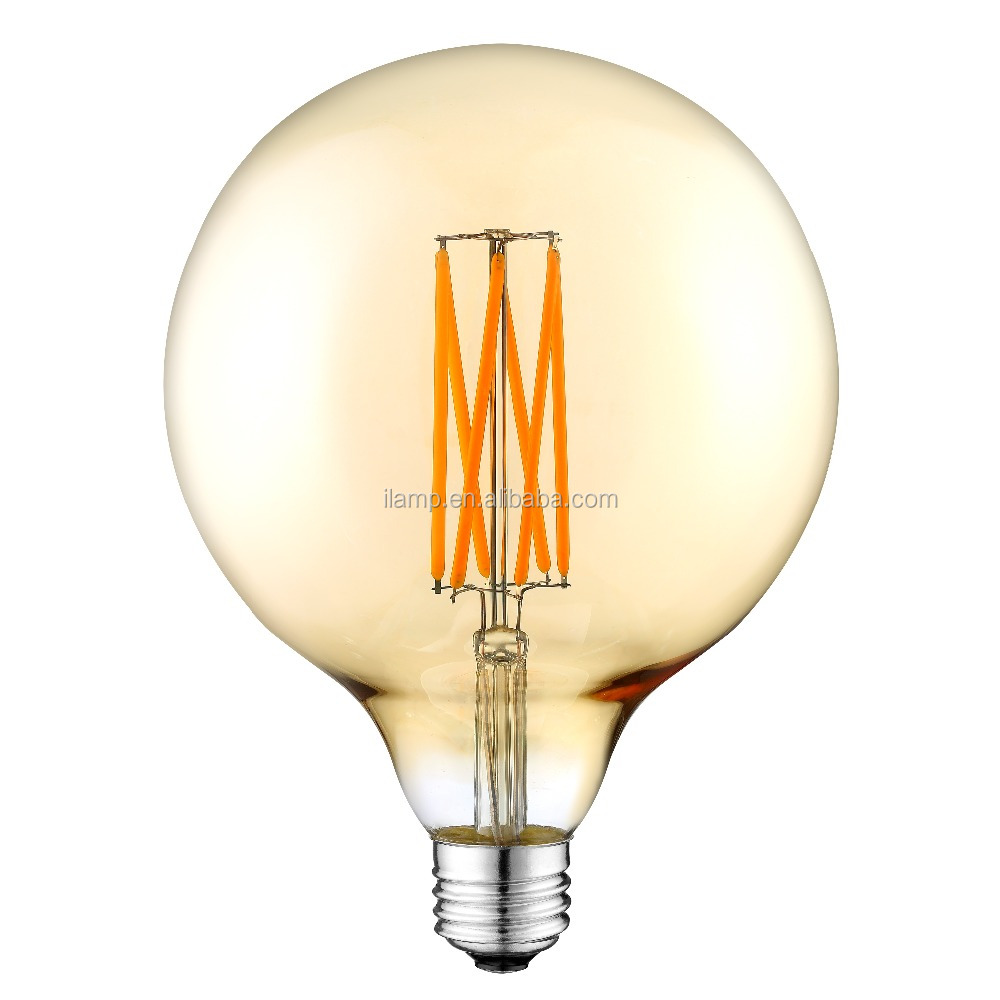 lamps and lighting E27 led filament lamp G125 10W outdoor lighting