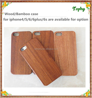 For apple iphone 6 wooden phone case real wood hard back cover case