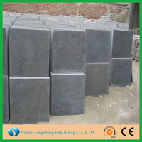 Qingdao nature honed blue stone/bluestone/blue limestone price