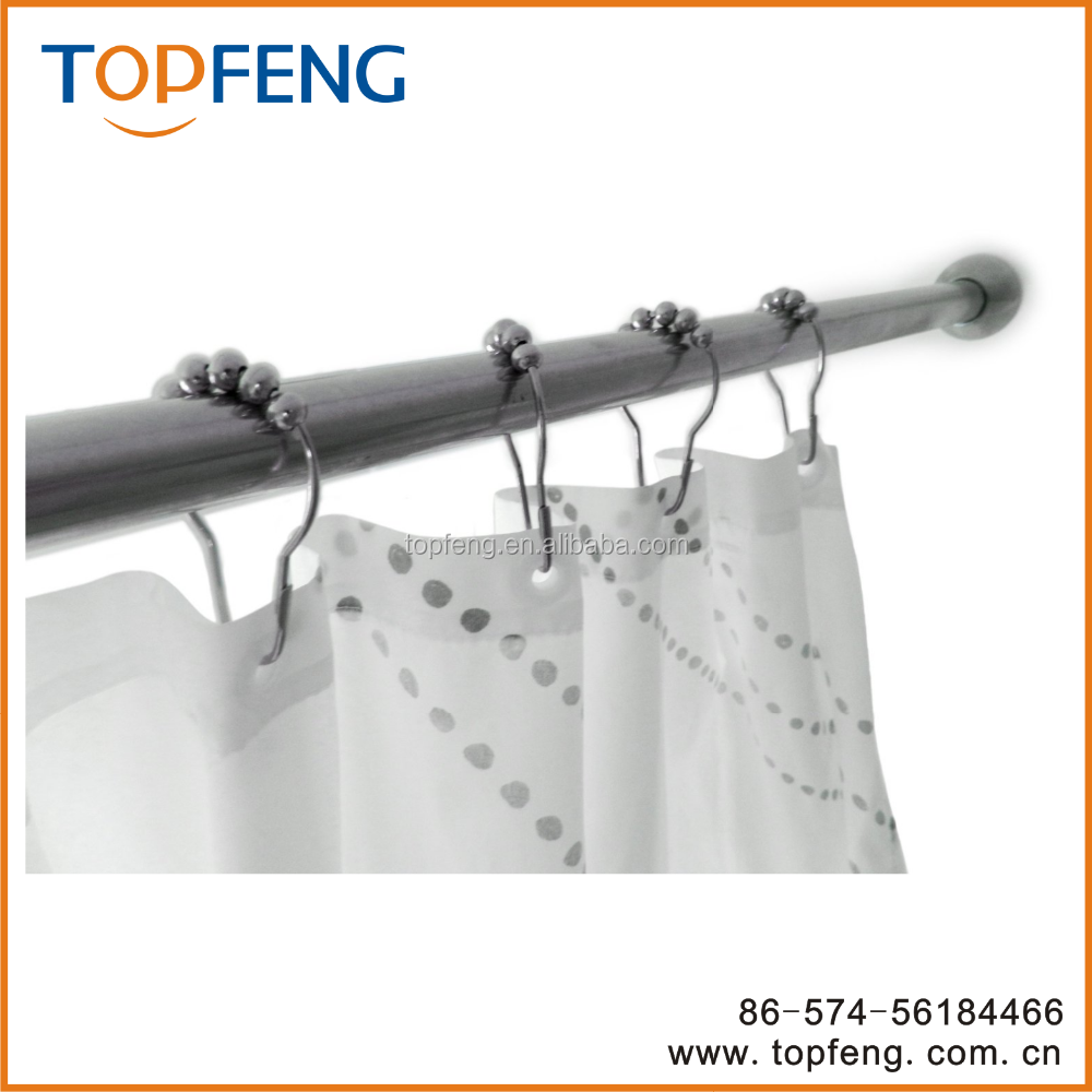 Curtain with hooks