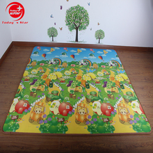 Custom size double-side printing pattern waterproof durable xpe playmat