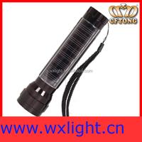 Environment friendly 0.25W LED solar flashlight/solar torch