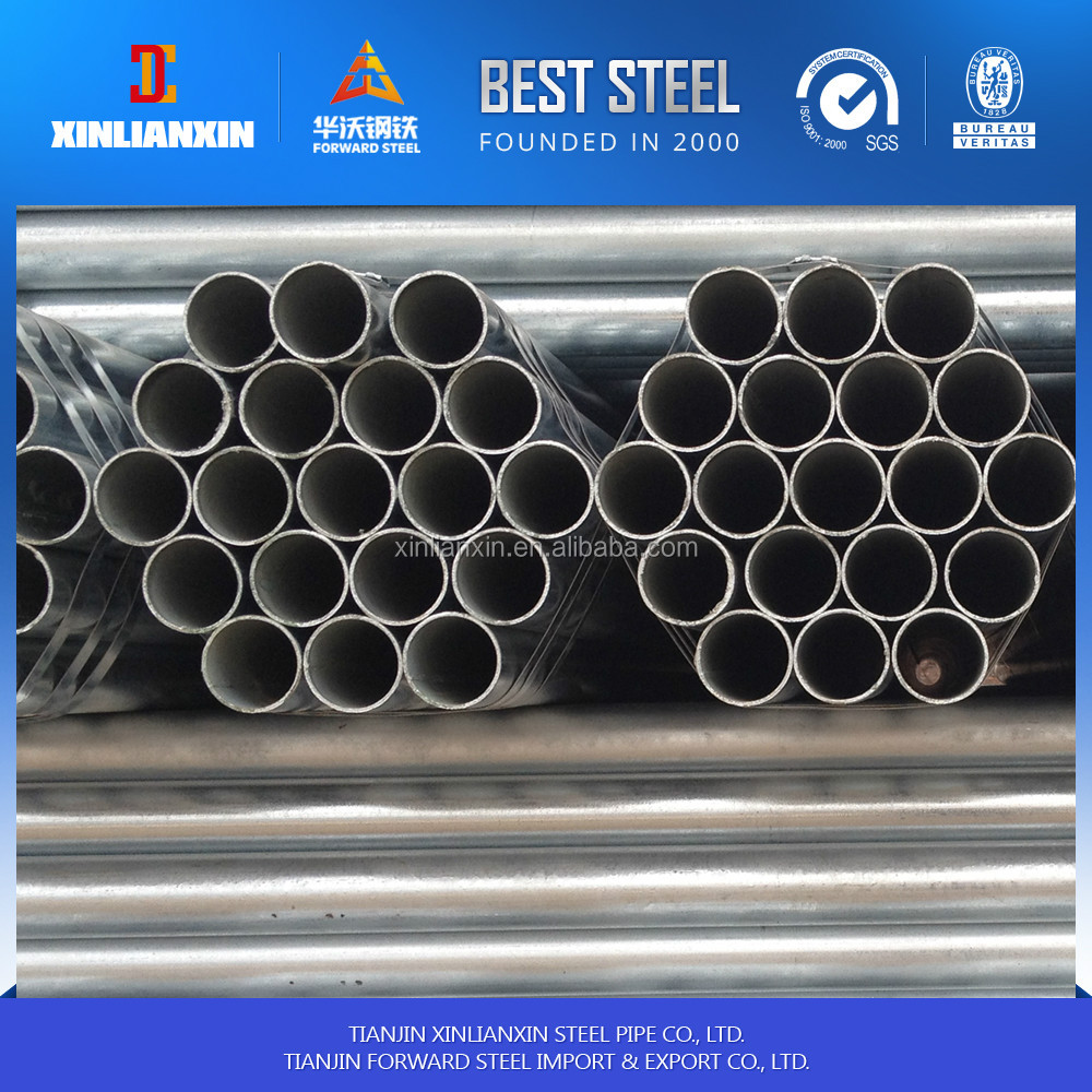 hot dip galvanized steel pipe for water pipe line