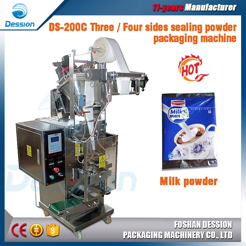 Small Powder / Milk / Herbs Packing Machine , 1-100g Adjustable