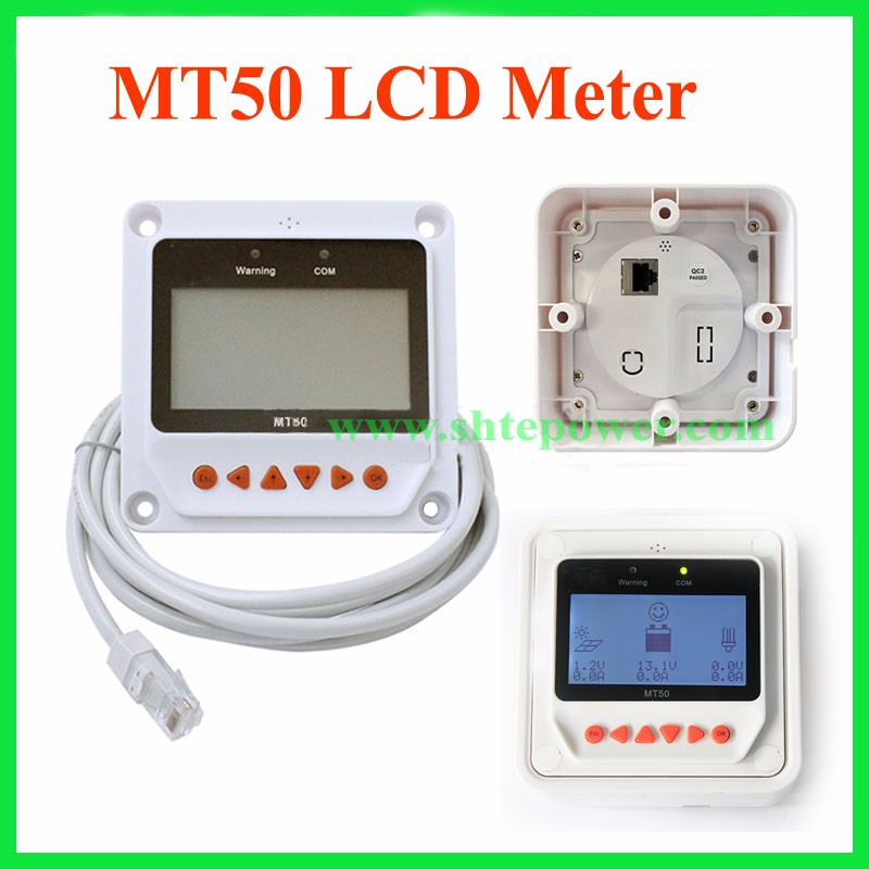 MPPT Solar Charge Controller 30A 12V24V Automatic Transfer Switch LCD Solar Panel Regulator for Solar Power System Tracer3210A