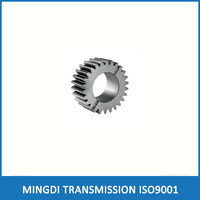 Percision CNC machine small spur gears, hardened small spur gear
