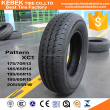 175/70R13 195/65R15 car neumaticos for car and SUV