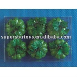 cased christmas foam decorative pumpkin fruits