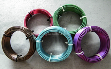 high quality decorative aluminium wire,jewelry fashion china manufacturer