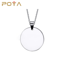 POYA Jewelry wholesale personalized infinity custom shape dog tags