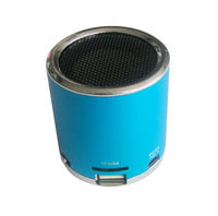 portable mini loud bass speaker for mp3 with FM/TF/U-Disk