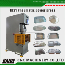 25 ton 45 ton electric plate punch press,ultra precision automatic aluminium foil food container making machine