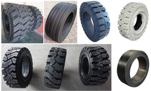 solid tire for forklift 6.50-10 industrial tires cheap solid tyre in high quality
