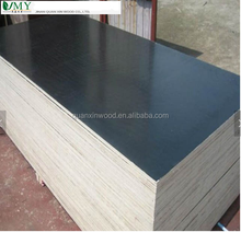 18MMX1220X2440 melamine glue poplar core brown film faced plywood sheet with low price