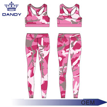 Sublimation Camo Printed Sports Gym Legging Women Fitness Sexy Yoga Inner Wear
