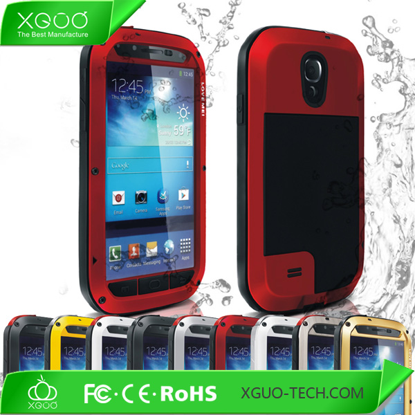 CE Rohs and FCC approved shock proof case cover for samsung galaxy s4 i9500