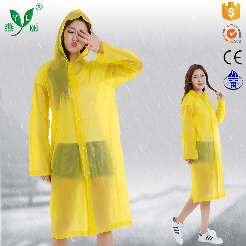 outdoor cycling waterproof raincoat suit raincoat pvc with sleeves