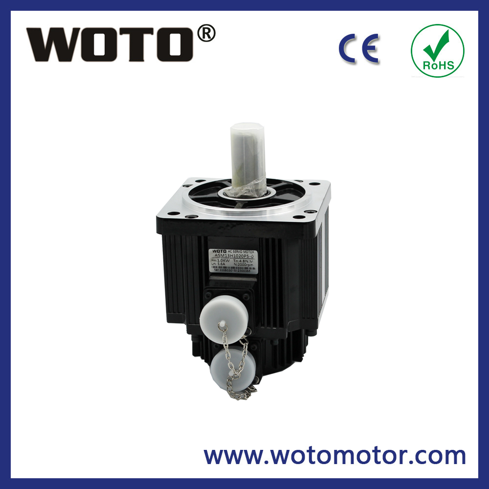 High quality 220V 1KW three phase electric ac servo motor with driver servomotor