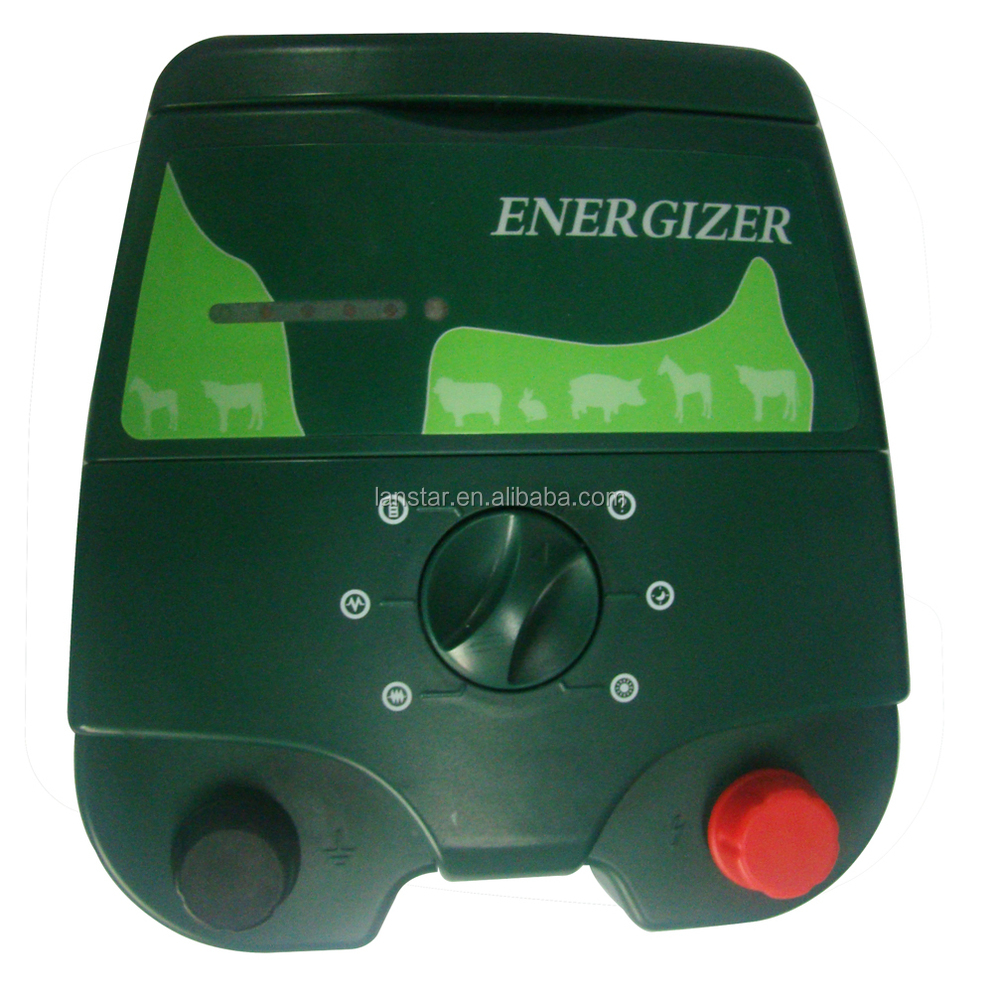animal control solar electric fence energizer and accessories for farm securing garden protecting