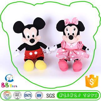 Wholesale Factory OEM customized Mickey Mouse plush toy