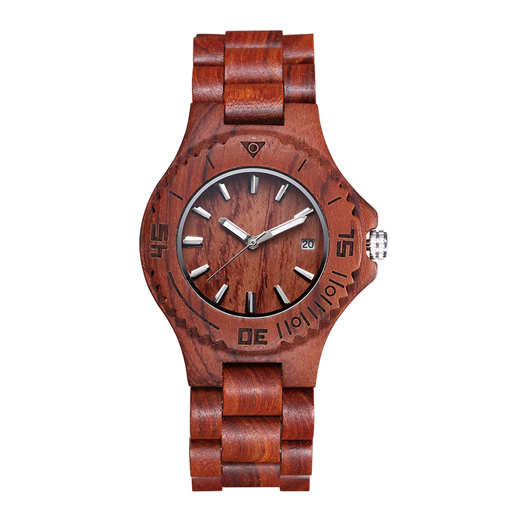 2017 hot style wood watch manufacture with best price