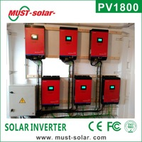 <Must Solar> PV1800 series intelligent dc/ac power inverter ups water pump inverter