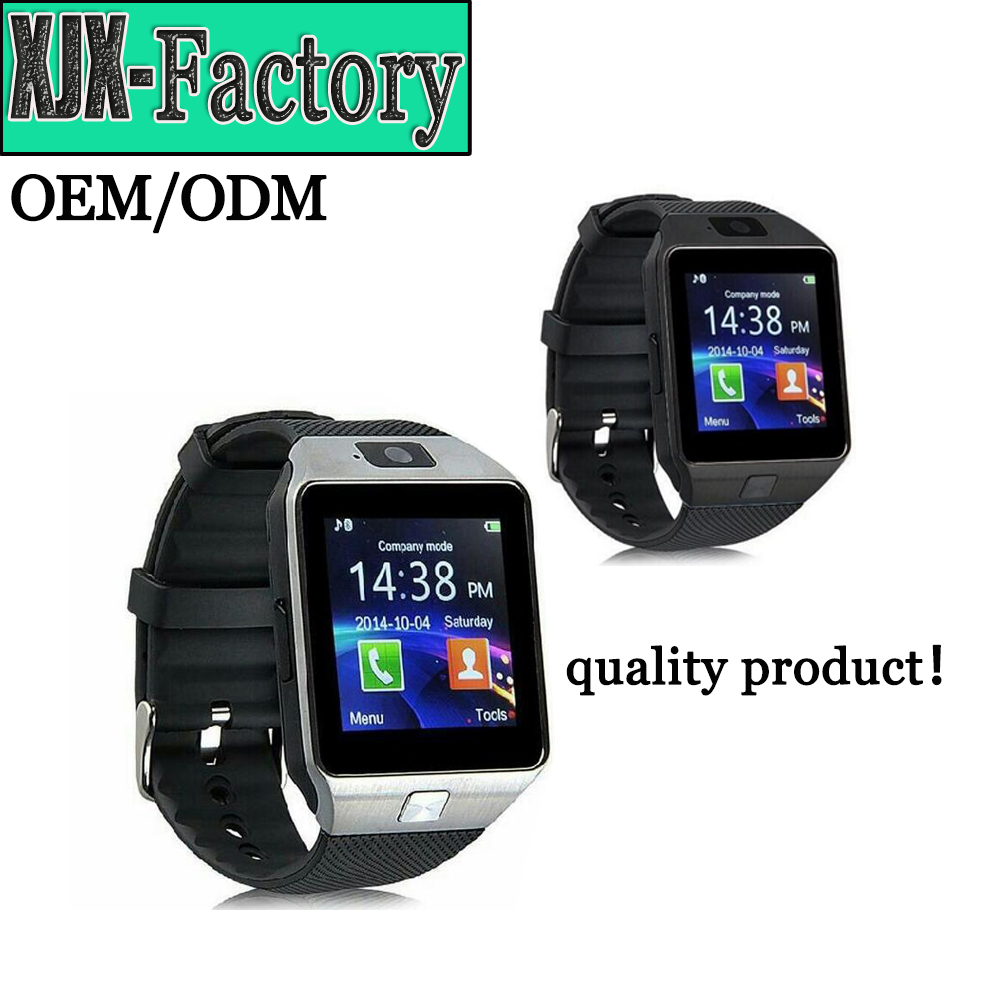 Top 3 factory!dz09 smart watch with Camera for <strong>Iphone</strong> and Android Smartphones