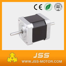 nema 17 waterproof 12v electric dc motor double shaft dual shaft